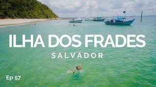 PASSEIO DE ESCUNA EM DUAS PRAIAS NA ILHA DOS FRADES   ILHAS DE SALVADOR 5   COMO CHEGAR 57