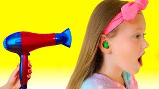 حلاوة تعلقت في أذن   ! ! M&M'S STUCK IN EAR