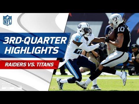 Raiders vs. Titans Third-Quarter Highlights | NFL Week 1
