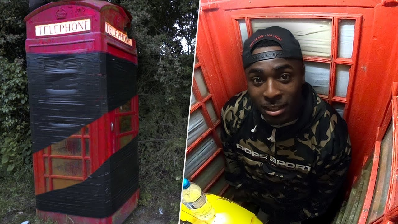 spongbob game: I Turned A Vintage Phonebox Into A Torture Chamber ...