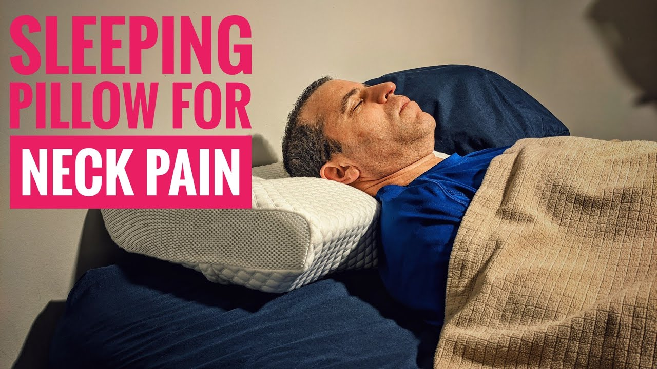 sleeping pillow for neck and back pain by sleepeasy review keep your neck aligned and pain free