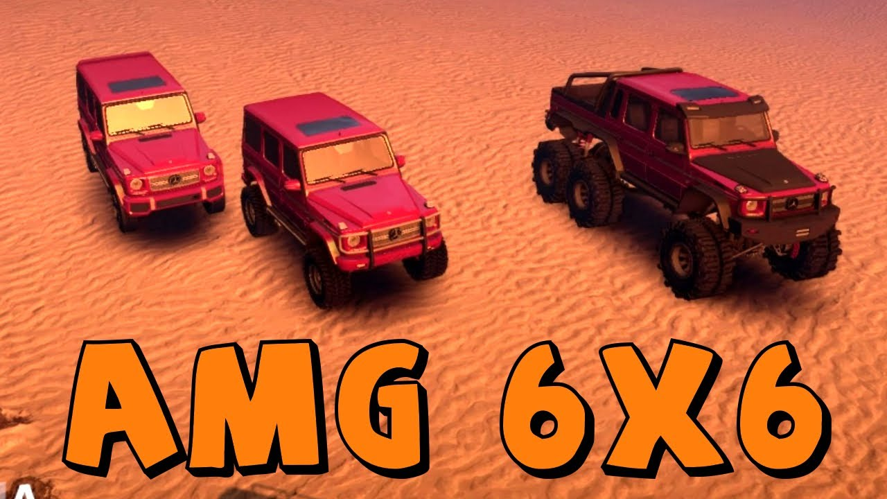 spin tires mercedes g65 amg 6x6 mod spotlightreview youtube - Mercedes G65 Amg 66