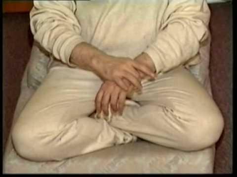 Self-acupressure for a good night sleep