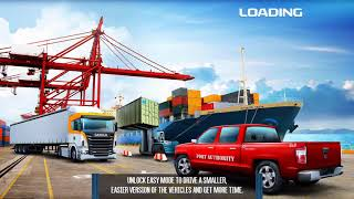 Cargo Crew : Port Truck Driver / Android Game / Game Rock