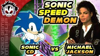 Sonic Speed Demon - A Michael Jackson & Sonic The Hedgehog Tribute [2019]