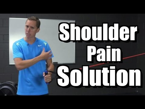 90 Second Shoulder Pain Solution Tennis Serve Lessons and Instruction