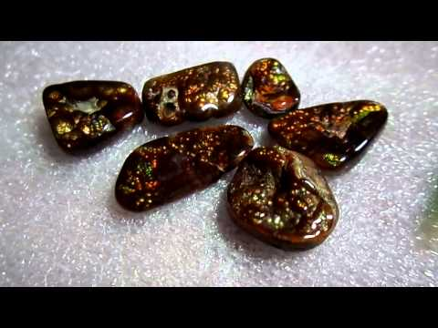 Fire Agates. Amber&Gems