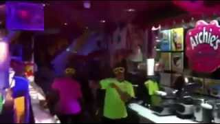 (Vid 4) Glow Party Nights at Archie's Ice Cream - October 2013 Thumbnail
