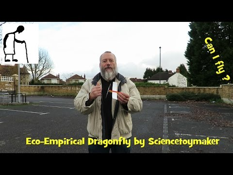Can I fly the Eco Empirical Dragonfly by Sciencetoymaker?