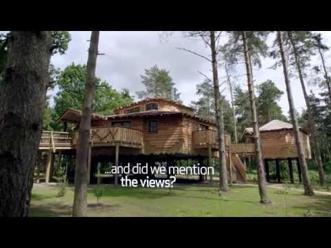 Enjoy a spectacular break in a breath-taking Treehouse