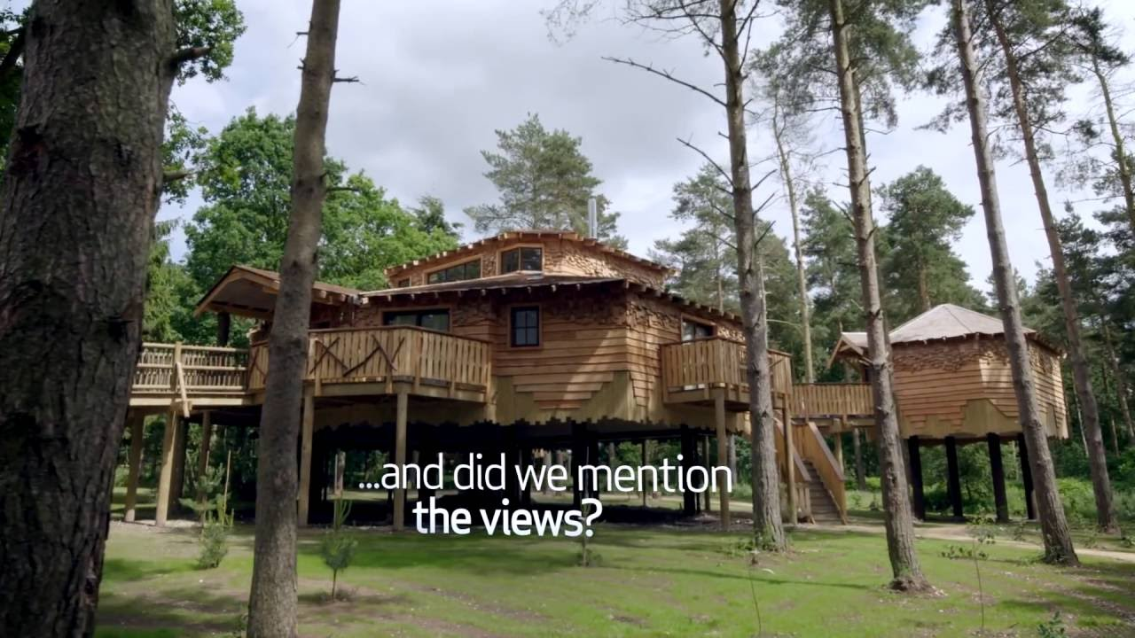 Luxury treehouse holidays and breaks | Hot tub & games room