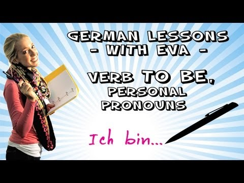 German Lesson 4 - verb to be, personal pronouns