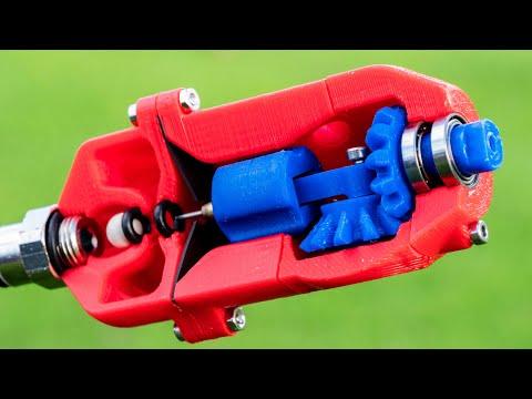 Diaphragm Air Engine