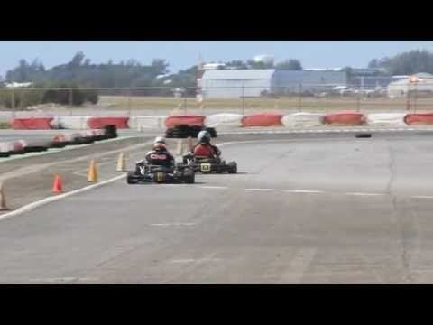 #2 Karting Racing Bermuda February 5 2012