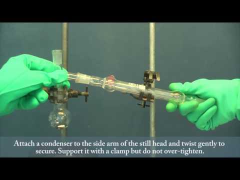 Setting Up Distillation Apparatus