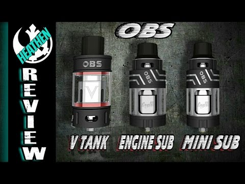 The OBS V Tank, Engine Sub and Engine Mini Sub I Giveaway I Heathen