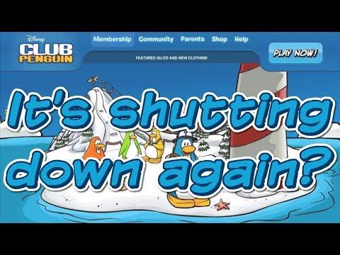 Club Penguin is Shutting Down... Again.