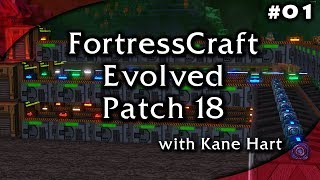 Let's Play FortressCraft Evolved Patch 18 - Part 1
