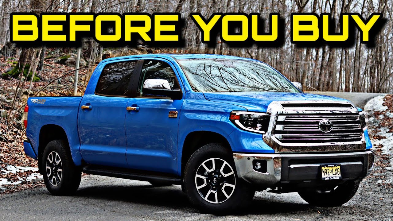 2020 Toyota Tundra 1794 Edition Before You Buy Youtube