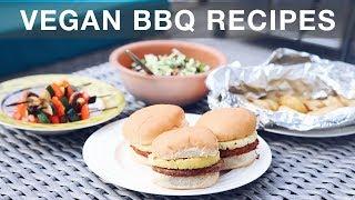 Easy Vegan Summer BBQ Recipes | summer meals