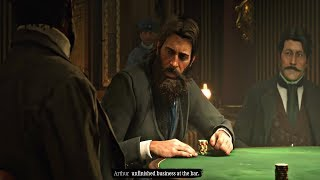 Red Dead Redemption 2 - Poker Game & Ship Heist Mission (A Fine Night of Debauchery)