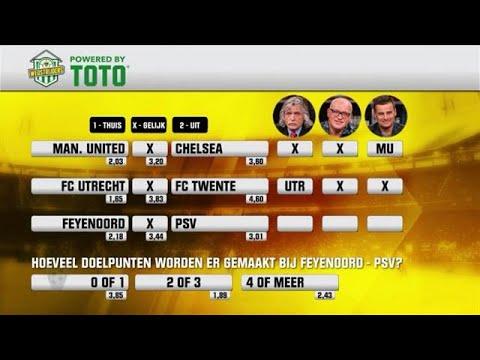 TOTO: Kiezen de mannen voor Feyenoord of PSV? - VOETBAL INSIDE