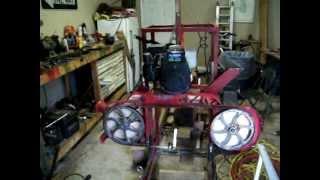 Homemade Bandsaw Sawmill #6 (1st Gen.)