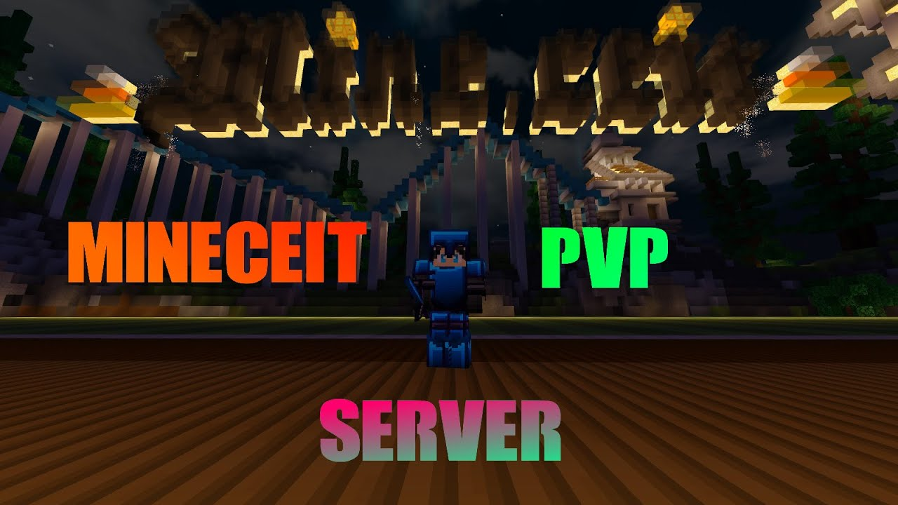 Minecraft Bedrock Pvp On The Mineceit Sever Server Review Youtube