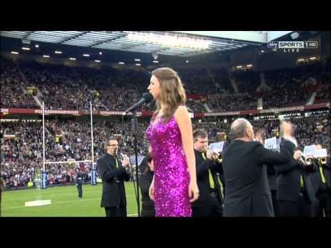 Jerusalem - Hayley Westenra - Rugby Super League Grand Final 2012