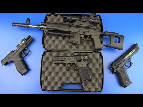 Box of Guns ! Realistic Airsoft gun & Umarex Walther CP88 Gun Review