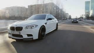 BMW M5 F10 Drifting in Almaty Kazakhstan