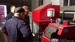 Настройка подачі лушпиння насіння в котлі Ретра 3 м 50 кВт
