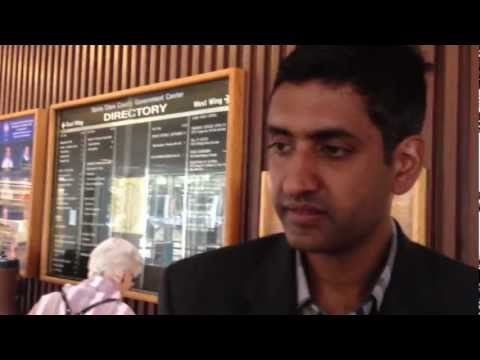 INTERVIEW TO RO KHANNA