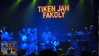 "TIKEN JAH FAkOLY - ""Promesse Bla Bla"" - Madrid - 4 / 12 / 2011"