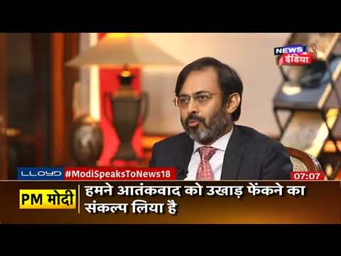 PM NARENDER MODI INTERVIEW WITH NEWS 18 INDIA