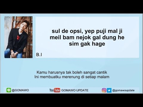 Easy Lyric iKON - BEST FRIEND by GOMAWO [Indo Sub]