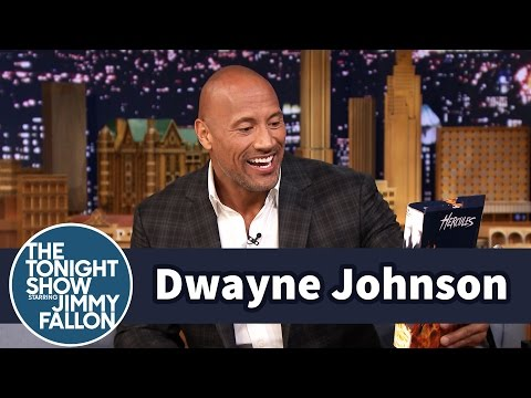 Dwayne Johnson Explains His Infamous '90s Throwback Instagram - The Tonight Show Starring Jimmy Fallon  - 5B2PwYr8pT4 -