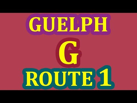Guelph G (G2 Exit) Driving Test Route - Pass Your G Exam On 1st Attempt - Step By Step Guide