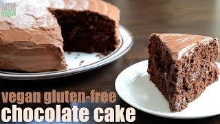 Classic Chocolate Cake (vegan And Gluten Free) Something Vegan