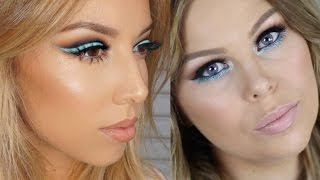 Bold Blue Liner Tutorial | Collab with Crystal Conte!