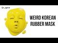 Weird Korean Rubber Mask- TINA TRIES IT