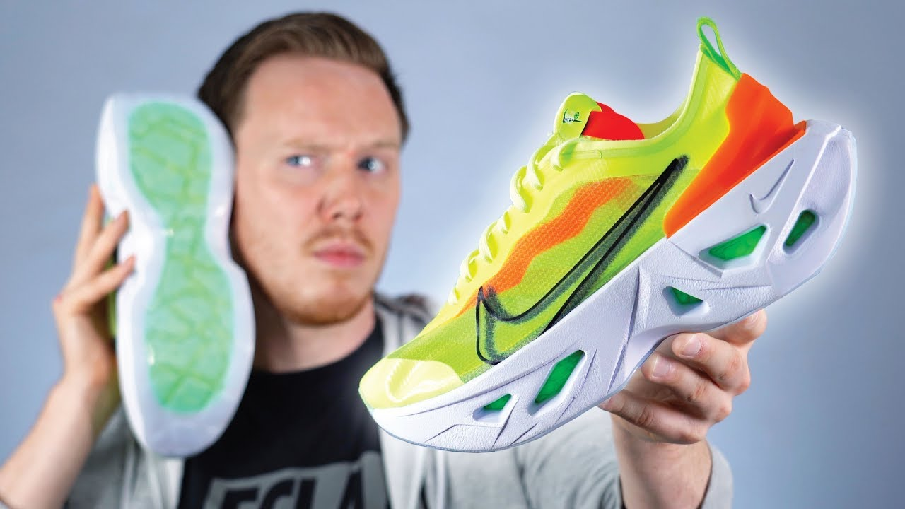 Lubricar hazlo plano Haiku  The Weirdest SOUNDING Shoe?! Nike ZoomX Vista Grind Review - YouTube