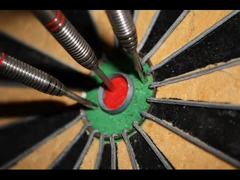 how to win at darts how to throw bullseye youtube