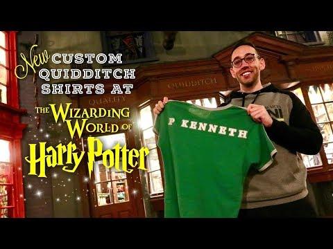 NEW Custom Harry Potter Quidditch Shirts At Wizarding World | Universal Studios Orlando