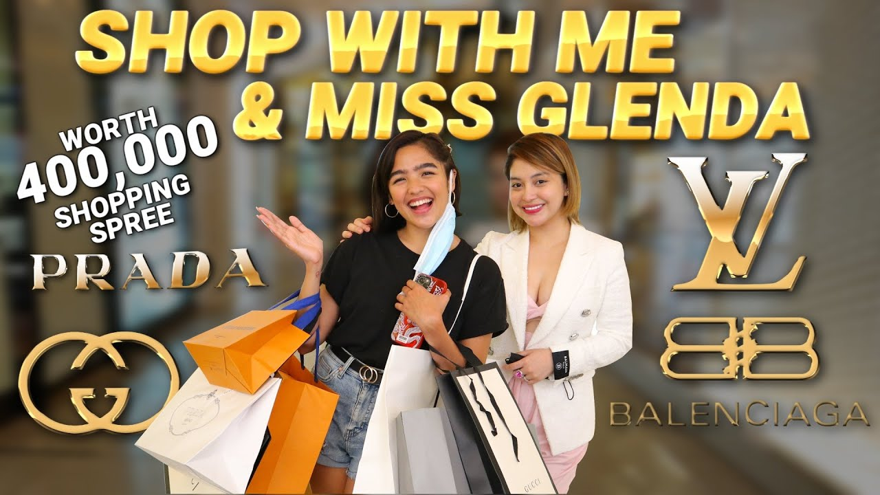 SHOP WITH ME AND MISS GLENDA