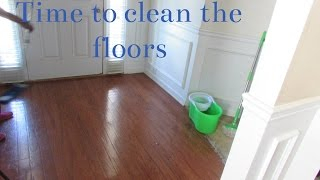 How I clean and maintain my hard wood floors