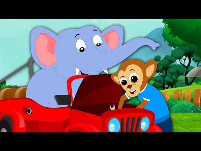 Monkey Business | Cartoons For Babies by Kids Tv