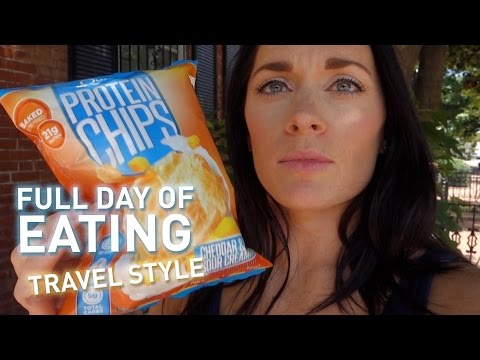 Full Day of Eating - Travel Style