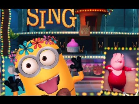 Despicable Me 3 Minion Rush Special Mission Sing Movie Piggy Power Fun Kids Games