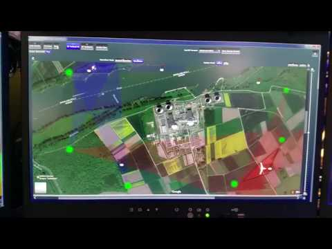 Demo of the NEW and IMPROVED Drone Detection System at Electronica 2016